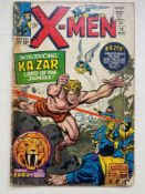 UNCANNY X-MEN #10 - (1965 - MARVEL - CENTS Copy) - First Silver Age appearances of Ka-Zar and Zabu