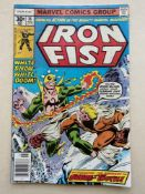 IRON FIST #14 - (1976 - MARVEL - CENTS Copy) - First appearance of Sabretooth - Al Milgrom cover