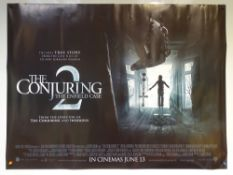 THE CONJURING 2 (2016) - ADVANCE POSTER - DRAMA / HORROR / MYSTERY - UK QUAD FILM / MOVIE POSTER -
