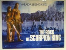 THE SCORPION KING (2002) - TEASER DESIGN MOVIE POSTER - SCIFI / FANTASY / ACTION - THE ROCK (