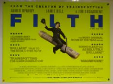 FILTH (2013) - 'MONEY' ALTERNATIVE DESIGN POSTER - COMEDY/ CRIME / DRAMA - JAMES MCAVOY / JAMIE BELL