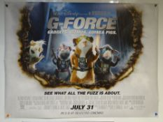 G-FORCE (2009) - ADVANCE POSTER - ANIMATION / ACTION / ADVENTURE / FAMILY/ WALT DISNEY - UK QUAD