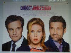 BRIDGET JONES'S BABY (2016) - ADVANCE DESIGN POSTER - COMEDY / DRAMA / ROMANCE - UK QUAD FILM /