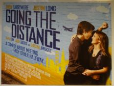 GOING THE DISTANCE (2010) - MAIN DESIGN - COMEDY / ROMANCE - UK QUAD - ROLLED AS ISSUED