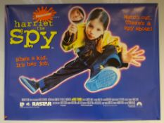 HARRIET THE SPY (1996) - COMEDY / DRAMA / FAMILY - ROSIE O'DONNELL - UK QUAD FILM / MOVIE POSTER -
