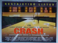 CRASH (2004) - 'TEASER DESIGN' MOVIE POSTER - ACTION / THRILLER - JAMES SPADER / HOLLY HUNTER - UK