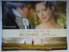 BECOMING JANE (2007) - BIOGRAPHY / DRAMA / ROMANCE - ANNE HATHAWAY / JAMES MCAVOY / JULIE