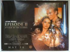STAR WARS EPISODE II 'ATTACK OF THE CLONES' (2002) - ACTION / SCIFI - EWAN MCGREGOR / SAMUEL L