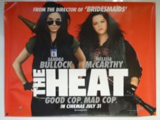 THE HEAT (2013) - ADVANCE DESIGN POSTER - ACTION / COMEDY / CRIME - UK QUAD FILM / MOVIE POSTER -