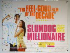 SLUMDOG MILLIONAIRE (2008) - ADVENTURE / ROMANCE / COMEDY - DEV PATEL - DIRECTED BY DANNY BOYLE - UK