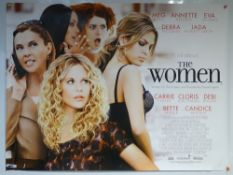 THE WOMEN (2008) - MAIN DESIGN POSTER - COMEDY / CRIME - UK QUAD FILM / MOVIE POSTER - ROLLED AS