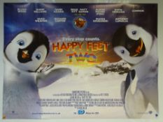 HAPPY FEET TWO (2011) - ANIMATION / ADVENTURE / COMEDY - ELIJAH WOOD / ROBIN WILLIAMS / PINK - UK