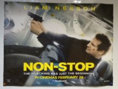 NON-STOP (2014) - ADVANCE POSTER - ACTION / MYSTERY / THRILLER - LIAM NEESON / JULIANNE MOORE - UK