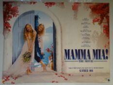 MAMMA MIA! (2008) - ADVANCE POSTER - COMEDY / MUSICAL / ROMANCE - MERYL STREEP / PIERCE BROSNAN /
