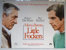 MEET THE PARENTS: LITTLE FOCKERS (2010) - ADVANCE POSTER - ROMANCE / COMEDY - ROBERT DE NIRO / BEN