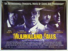 MULHOLLAND FALLS (1996) - CRIME / DRAMA / MYSTERY - NICK NOLTE / MELANIE GRIFFITH - UK QUAD FILM /