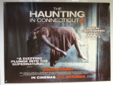 THE HAUNTING IN CONNECTICUT 2 (2013) - 'ADVANCE DESIGN MOVIE POSTER' - THRILLER / HORROR - UK QUAD