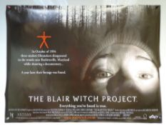 THE BLAIR WITCH PROJECT (1999) - 'ADVANCE DESIGN MOVIE POSTER' - THRILLER / HORROR - UK QUAD