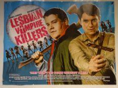 LESBIAN VAMPIRE KILLERS ( 2009) - COMEDY / ACTION / HORROR - JAMES CORDEN / MATHEW HORNE - UK QUAD