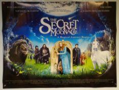 THE SECRET OF MOONACRE (2008) - ADVENTURE / FAMILY - TIM CURRY / DAKOTA BLUE RICHARDS - UK QUAD FILM