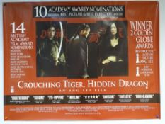 CROUCHING TIGER, HIDDEN DRAGON (2000) - CRITICS REVIEW POSTER - ACTION / ADVENTURE / FANTASY - YUN-