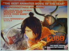 KUBO AND THE TWO STRINGS (2016) - ADVANCE DESIGN POSTER - ANIMATION / ACTION / ADVENTURE - UK QUAD