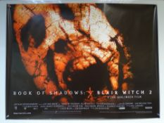 BOOK OF SHADOWS: BLAIR WITCH 2 (2000) - THRILLER / HORROR - UK QUAD FILM / MOVIE POSTER - ROLLED