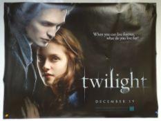TWILIGHT (2008) - ADVANCE POSTER - DRAMA / FANTASY / ROMANCE - KRISTEN STEWART / ROBERT