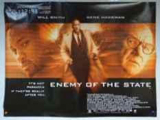 ENEMY OF THE STATE (1998) - ACTION / CRIME / MYSTERY - WILL SMITH / GENE HACKMAN / JON VOIGHT - UK