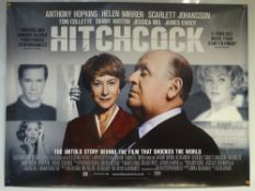 HITCHCOCK (2012) - MAIN DESIGN POSTER - BIOGRAPHY / DRAMA / ROMANCE - UK QUAD FILM / MOVIE