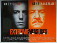 EXTREME MEASURES (1996) - CRIME / DRAMA / MYSTERY - HUGH GRANT / GENE HACKMAN / SARAH JESSICA PARKER