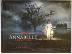 ANNABELLE: CREATION (2017) - HORROR / THRILLER / MYSTERY - UK QUAD FILM / MOVIE POSTER - ROLLED AS