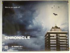 CHRONICLE (2012) - ADVANCE DESIGN POSTER - DRAMA / SCI-FI / THRILLER - UK QUAD FILM / MOVIE POSTER