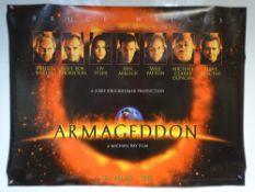 ARMAGEDDON 'TEASER DESIGN' (1998) - ACTION / ADVENTURE / SCI-FI - BRUCE WILLIS / BEN AFLECK /