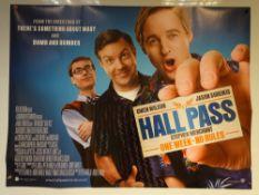 HALL PASS (2011) - COMEDY / ADVENTURE - OWEN WILSON / JASON SUDEIKIS / STEPHEN MERCHANT - UK QUAD