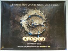 ERAGON (2006) - ADVANCE POSTER - ACTION / ADVENTURE / FAMILY - JEREMY IRONS - UK QUAD FILM / MOVIE