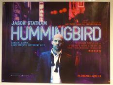 HUMMINGBIRD (2013) - ADVANCE DESIGN POSTER - ACTION / DRAMA / THRILLER - UK QUAD FILM / MOVIE POSTER