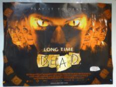 LONG TIME DEAD (2002) - HORROR / THRILLER - JOE ABSOLOM / TOM BELL / LARA BELMONT - UK QUAD FILM /