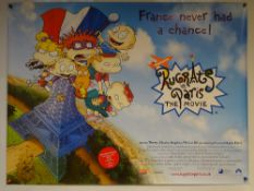 RUGRATS IN PARIS THE MOVIE (2000) - ANIMATION / ADVENTURE / COMEDY - UK QUAD FILM / MOVIE POSTER -