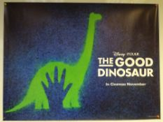 THE GOOD DINOSAUR (2015) - ADVANCE DESIGN POSTER - ANIMATION / ADVENTURE / COMEDY - UK QUAD FILM /