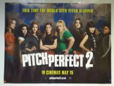 PITCH PERFECT 2 (2015) - ADVANCE POSTER 'PITCH SLAPPED' - COMEDY / MUSIC - ANNA KENDRICK / REBEL