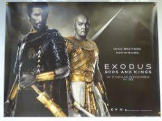 EXODUS: GODS AND KINGS (2014) - ADVANCE DESIGN POSTER - ACTION / DRAMA / FANTASY - UK QUAD FILM /