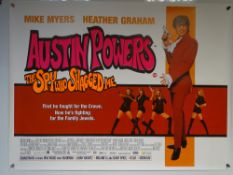 AUSTIN POWERS 'THE SPY WHO SHAGGED ME' (1999) - ACTION / COMEDY - MIKE MYERS / HEATHER GRAHAM - UK