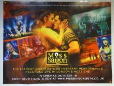 MISS SAIGON 25TH ANNIVERSARY (2016) - ADVANCE DESIGN POSTER - DRAMA / ROMANCE / MUSICAL - UK QUAD