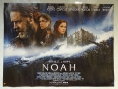 NOAH (2014) - ADVANCE POSTER - ACTION / ADVENTURE / DRAMA - RUSSELL CROWE / JENNIFER CONNELLY /