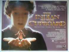 THE INDIAN IN THE CUPBOARD (1995) - DRAMA / FAMILY / FANTASY - UK QUAD FILM / MOVIE POSTER -