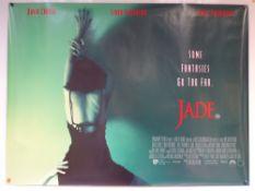 JADE (1995) - CRIME / DRAMA / THRILLER - UK QUAD FILM / MOVIE POSTER - ROLLED AS ISSUED