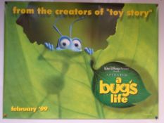 A BUG'S LIFE (1998) - ADVANCE POSTER - ANIMATION / ADVENTURE / COMEDY - WALT DISNEY