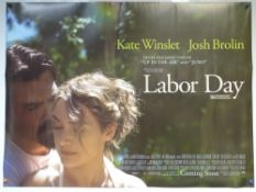 LABOR DAY (2013) - DRAMA / ROMANCE - KATE WINSLET - UK QUAD FILM / MOVIE POSTER - ROLLED AS ISSUED