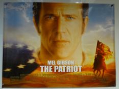 THE PATRIOT (2000) - ACTION / WAR - MEL GIBSON / HEATH LEDGER - UK QUAD FILM / MOVIE POSTER - ROLLED
